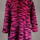 Drew Carey Show Mimi Bobeck Kathy Kinney Pink Tiger Fauz Fur Coat w/ COA