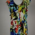 New Maggy London Multi Color Sun Dress Size 2 and 8
