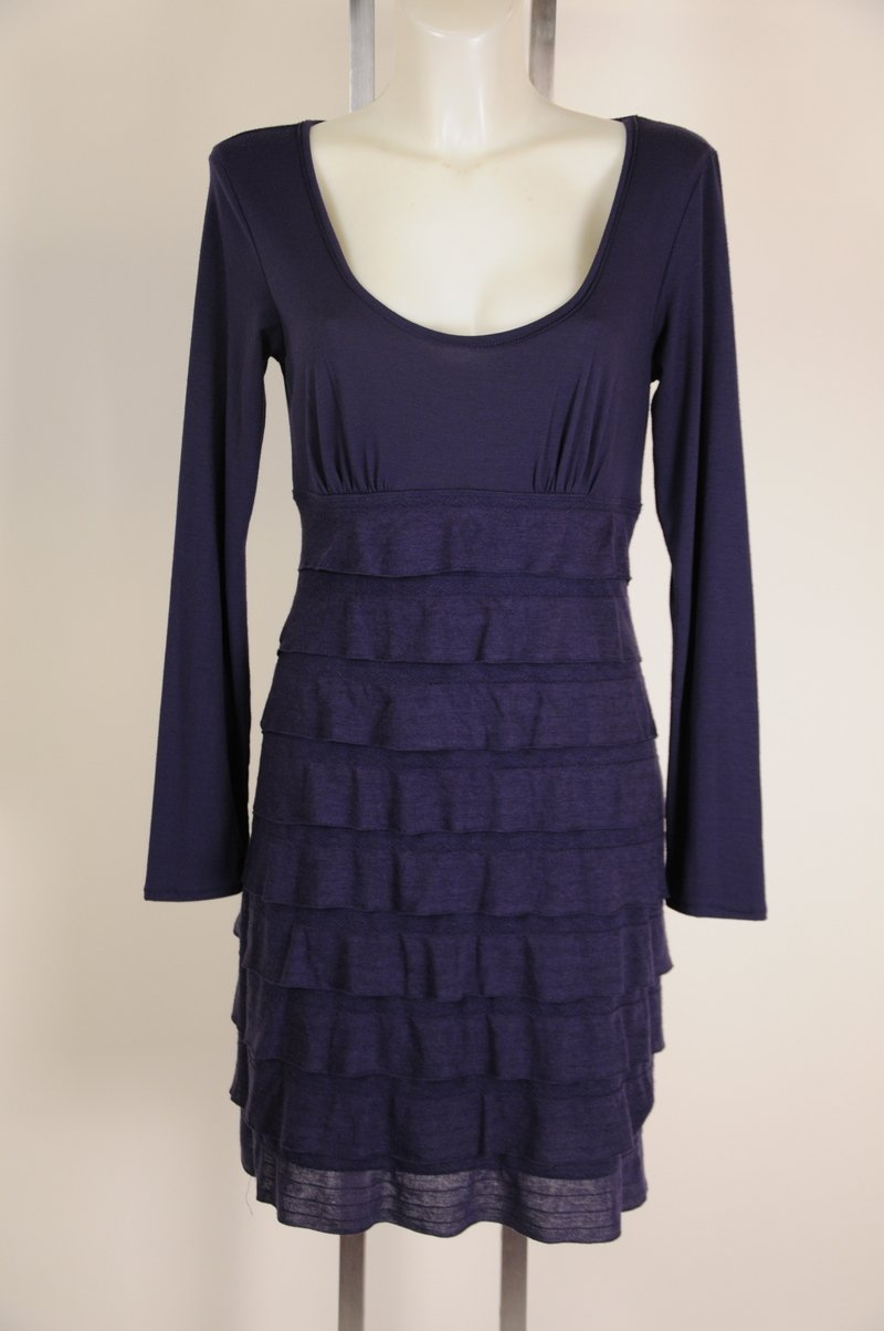 New Womens Studio M Petite Purple Dress Size LP