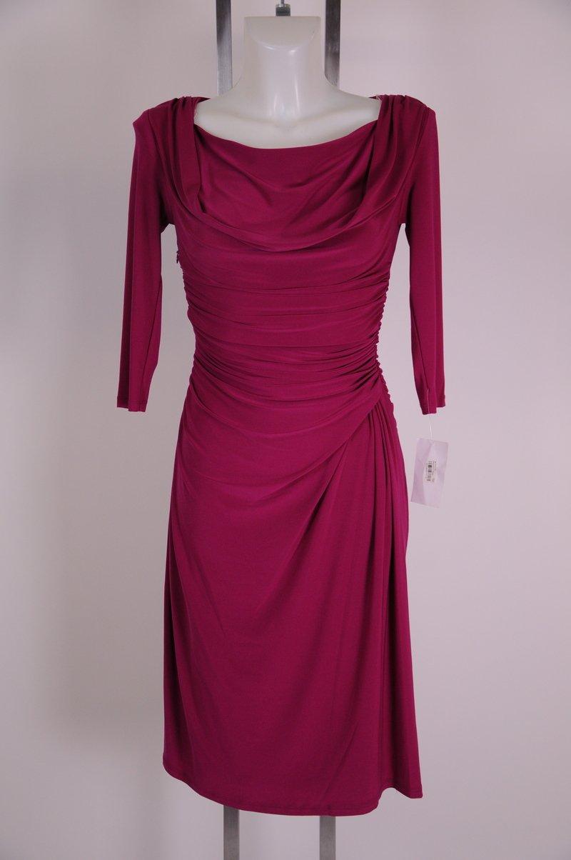 NWOT Jones New York Dress Petite Pink 3/4 Sleeve Size 2P