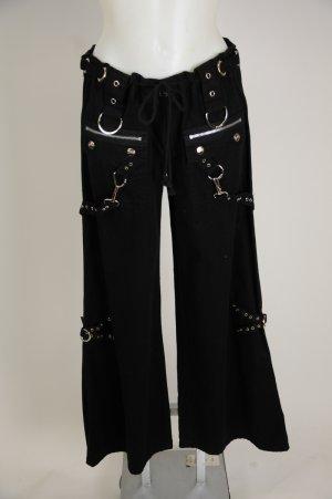 Have faced black chain bondage pants delightful