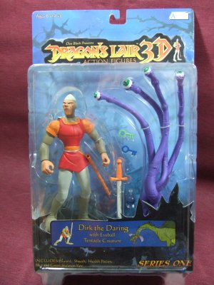 Dragon's Lair 3D action figure DIRK THE DARING series one