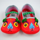 Chinese Baby Boy Girl Hand Made Embroidery Tiger Shoes