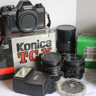 Konica SLR outfit