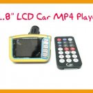 "Car MP4 Player 1.8"" LCD Car MP4 Player Wireless FM Transmitter SD USB+ Free Shipping!"