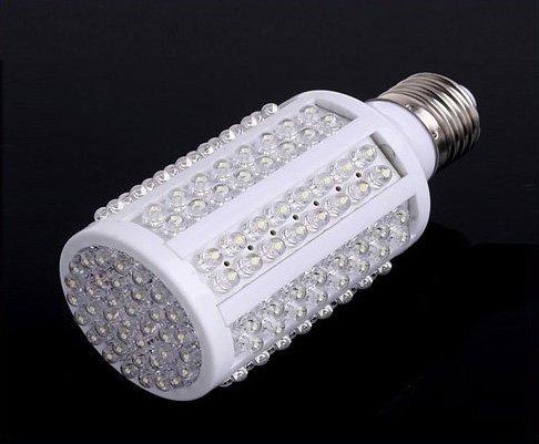 E27 220V 7W 166 White LED Light Bulb Lamp wholesale free shipping