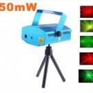 5pcs/lot  Free Shipping  150mW Mini Red-Green Moving Party Laser  LED Stage Light