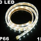 White Light IP66 Waterproof 1M SMD 3528 60 LED Strip Light  10pcs/lot  Free Shipping