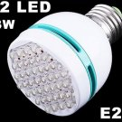 42 LED White Light E27 Screw Head Bulb 3W Energy Saving Lamp  20pcs/lot  Wholesale