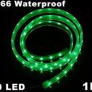 IP66 Waterproof 1M SMD 3528  60 LED Strip Light  10pcs/lot  Free Shipping