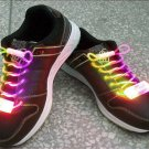 LED Light Up Shoelaces Flash Shoestrings Multi-Color  10sets/lot  Free Shipping