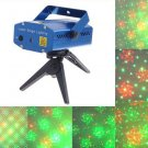 Mini Multicolor Moving Party Stage Laser Light  Free Shipping