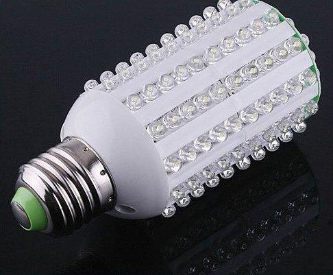 Hot! Ultra Bright 8W E27 149 LED Corn Light Bulb Non-radition 220V  Free Shipping