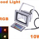 10W Waterproof Landscape Lamp RGB LED Flood Light  LED Flood Lamp  Free Shipping