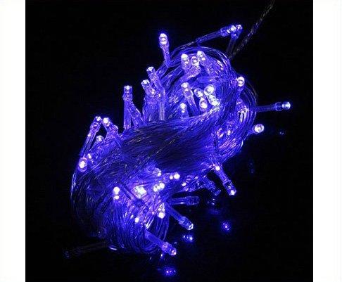 100 LED 10m String Light Party  Wedding Blue 10pcs/lot  Free Shipping
