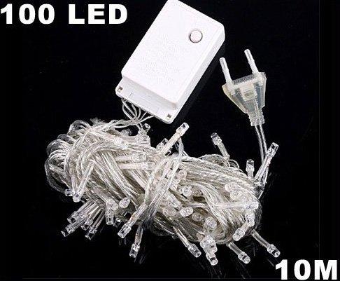 Yellow 10m 100 LED  String Light  Free Shipping