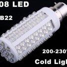 220V Bulb B22 5W 450LM Cold Light 108 LED Corn Light  20pcs/lot  Wholesale