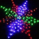 6pcs/lot  Colorful 160 LED US 110V  Net Light Christmas Party Wedding  Free shipping