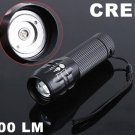 CREE LED Zoomable 3 Mode 200 Lumen LED Flashlight  CREE Torch  CREE LED Flashlight