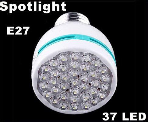 20pcs/lot  Free Shipping  2W E27 37 LED Lamp