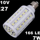 E27 9W 110V White LED Corn Light Bulb Lamp  Free Shipping  Retail