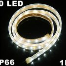 White Light IP66 Waterproof 1M SMD 3528 60 LED Strip Light  Free Shipping  Retail