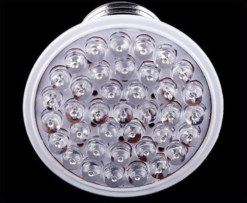 200-240V 8W E27 38 LED Bulb  free shipping  30pcs/lot