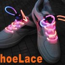 Colorful LED Light Up Shoes shoelaces Luminous shoestring Flash Glow Stick  5sets/lot  Free Shipping