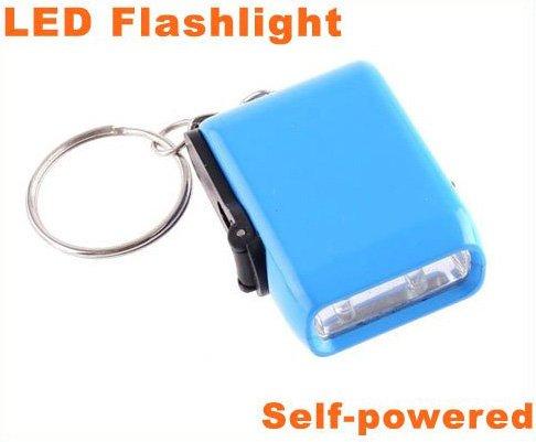 Battery Free Squeeze Handle Bright LED Torch Light  LED Light  LED Flashlight