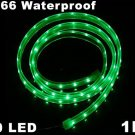 IP66 Waterproof 1M SMD 3528  60 ED Strip Light  5pcs/lot  Free Shipping