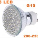 G10 38 LEDs 1.5W Energy Saving Lamp LED Light Bulbs 10pcs/lot  Free Shipping