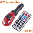 Car MP3  Car MP3 player with SD MMC reader+Car MP3 With FM Transmitter remote control  30 pcs/lot