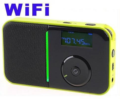 Hot sale Wifi radio  Internet radio Portable Mini Pocket Wireless WiFi Internet FM Radio Player