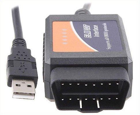 V1.4 ELM327 OBD2 CAN-BUS car Diagnostic Interface Scanner scanner for car Free Shipping