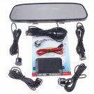 Parking sensor 4 Parking Sensors Car Backup Reverse Radar Rearview Mirror car parking system