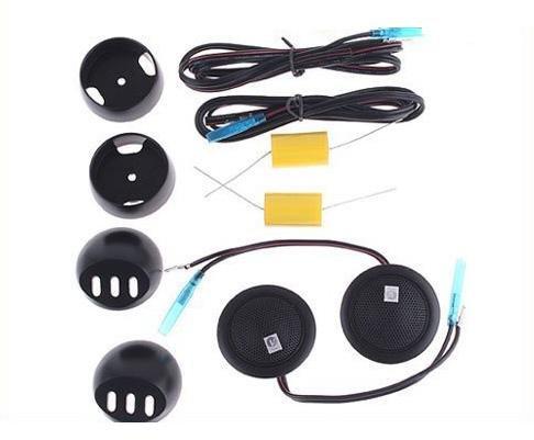 Car speaker Super Power Loud Dome Speaker Tweeter for Car with Capacitors car tweeter Free shipping