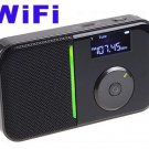 Portable Mini Pocket Wireless WiFi Internet FM Radio Player