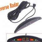 Car Reverse parking sensor Car LED Display Parking Reverse Backup Radar w/4 Sensors