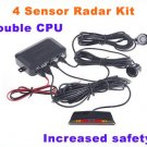 Car Backup Reverse Radar Kit/car reversing/auto sensor parking systems free shipping