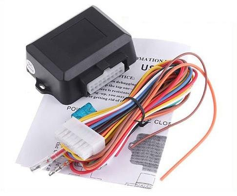 Hot Car alarm system 4 doors car power Window Roll Up Closer Module free shipping