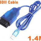 VAG K + CAN 1.4 OBD II OBD 2 USB Diagnostic tool Commander  Car usb scanner + Free Shipping