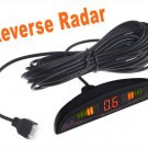 LED Car Parking sensor Parking Reverse Backup Radar with 4 Sensors