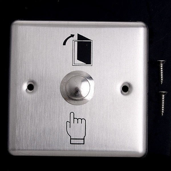 Wholesale Stainless Steel Door Exit Push Release Button Switch for Access Control Free Shipping