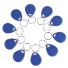 Wholesale IC Identification Door Entry Access Key Keyfob Card 10 pcs Free Shipping