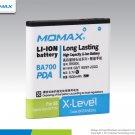 Wholesale HK MOMAX Battery for Sony Ericsson XPERIA Neo MT15i BA700 LT16i ST18i Free Shipping