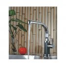 Chrome One handle single hole mount cold and hot Kitchen Bath Sink Faucets(D416) Free Shipping