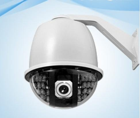 EC-SP2710IR CCTV PTZ Camera Infrared Distance More than 100m Color 7 inch IR Constant Speed Dome