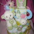 Macy Baby Cake Collector Cake--Limited Edition Amy Cole 2-tier Diaper Cakes