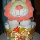 Macy Baby Cake Cute Lion Diaper Cakes
