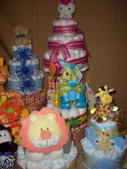 Macy Baby Cake Diaper Cakes Custom Order Available